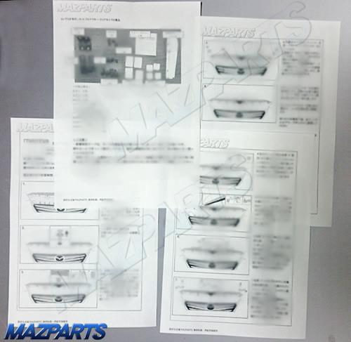 MAZPARTS独自の日本語マニュアル