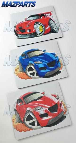 KOOLART RX-8&RX-7デザイン マウスパッド