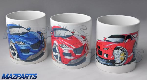 KOOLART RX-8&RX-7デザイン マグカップ