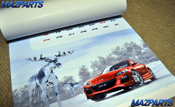 マツダ 2011年カレンダー