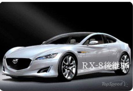 次期RX-8(7or9?)の予想CG