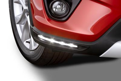 こちらも発売予定、CX-5用UKマツダ純正デイライトの車検対応版!