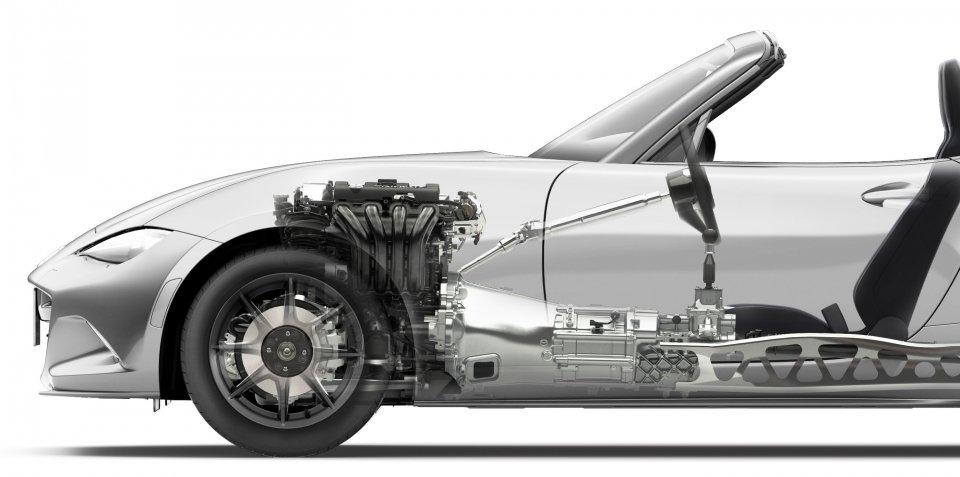 新型NDロードスター、エンジンは1.5 SKYACTIV-Gと発表! トルク等の詳細なスペックは不明。