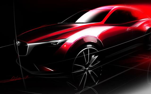 マツダ CX-3、ロサンゼルスモーターショー(2014.11)で発表!