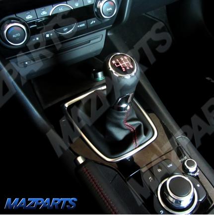 BMアクセラ用新商品!MT車用イルミネーションシフトノブ、発売開始しました!