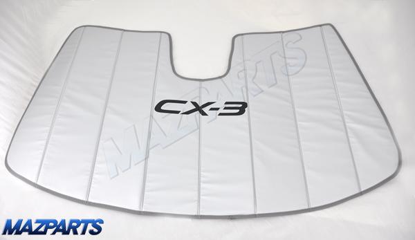 新商品!CX-3用USマツダ純正サンシェード