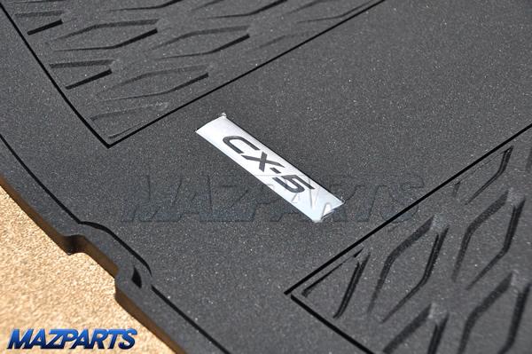 KF型CX-5のラゲッジルームを便利・快適に使う&高級感をアップする新商品群
