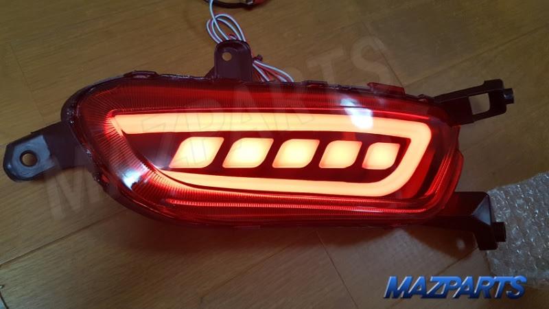 CX-3用LEDリフレクター、正式販売せず処分販売します
