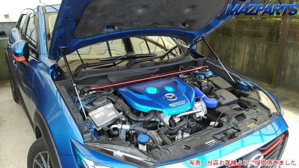 新商品!CX-3用ボンネットダンパーご予約受け付け中&モニタ様より写真ご提供頂きました!
