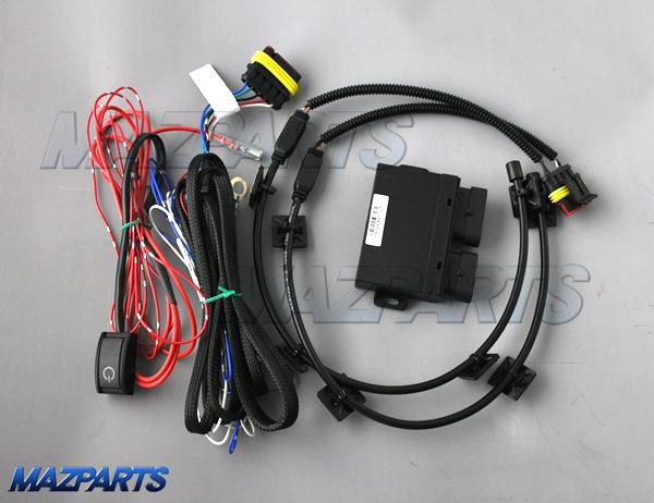 CX-8用の電動リフトゲート用フットセンサー、正式対応に向けてはこのあたりの確認が必要