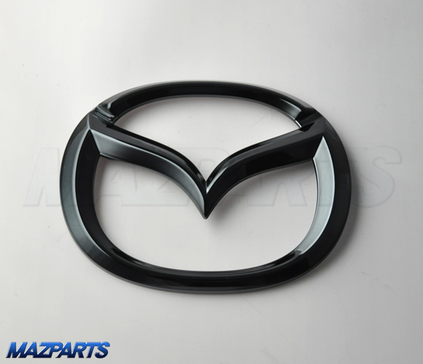 新商品!KF型CX-5用ブラッククローム・マツダオーナメント リア用