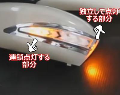 車検対応は厳しそうなBM/BYアクセラ用シーケンシャルドアミラーウインカー
