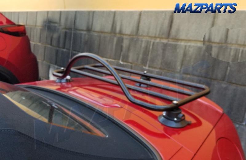 NDロードスター等用吸盤式トランクラック/トランクキャリアの取り付け・取り外し動画を公開。とにかく扱いが簡単!